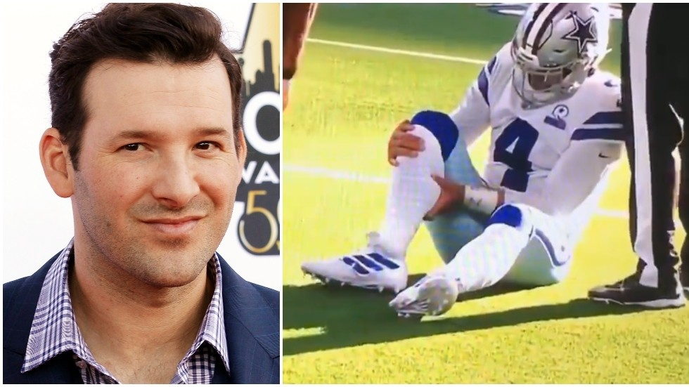 Hope It S Just Cramp Ex Nfl Star Romo Ridiculed For Comments On Horror Injury To Cowboys Quarterback Dak Prescott Video Rt Sport News