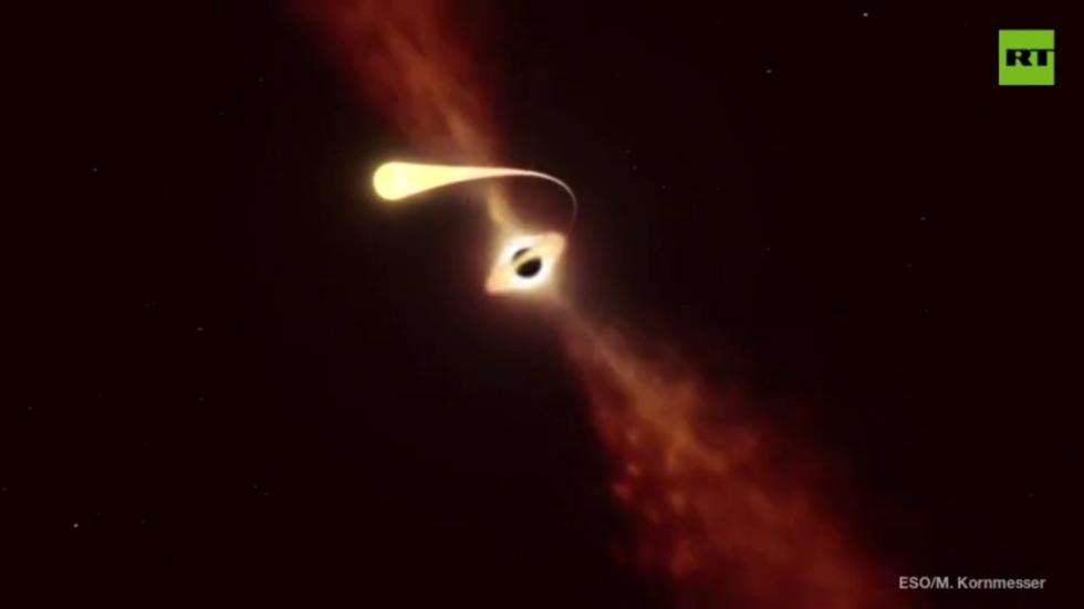 Astronomers capture exact moment supermassive black hole DEVOURED entire star