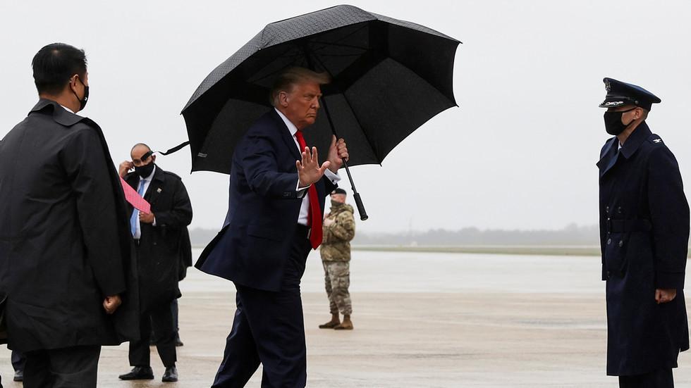 Trump tests negative for coronavirus ahead of Florida rally – White House doctor