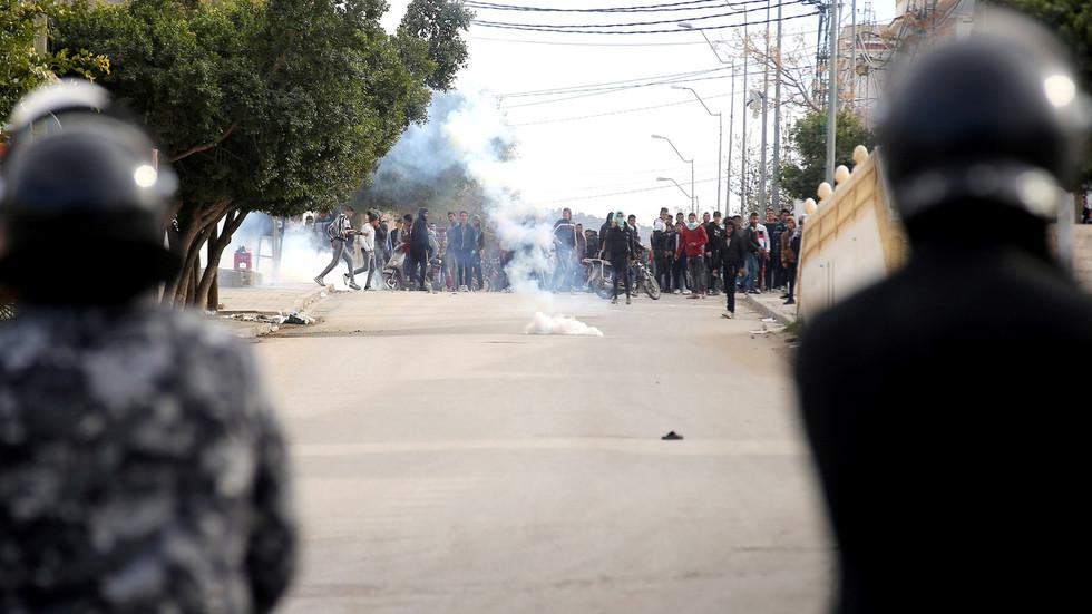 WATCH: Riots in Tunisia after authorities BULLDOZE illegal kiosk & kill sleeping man inside