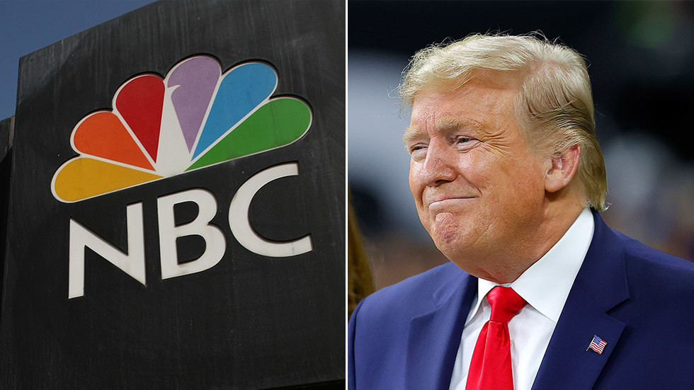 'Don't give him a platform!': Liberals call to 'boycott NBC' after network announces Trump town hall clashing with Biden event