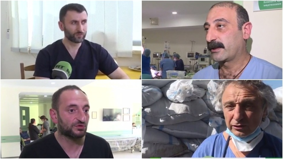'This war must end': Doctors express 'shock' over severity of war wounds in Nagorno-Karabakh in interviews with RT