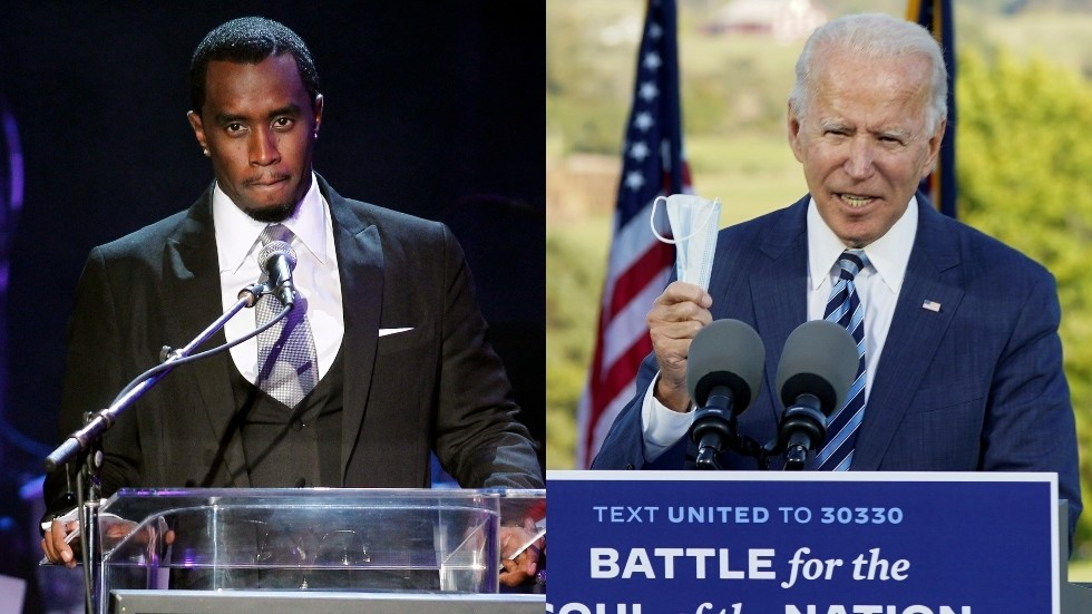 P. Diddy launches 'Our Black Party', warns white people should be 'scared to death' of Trump & vote Biden to avoid 'race war'