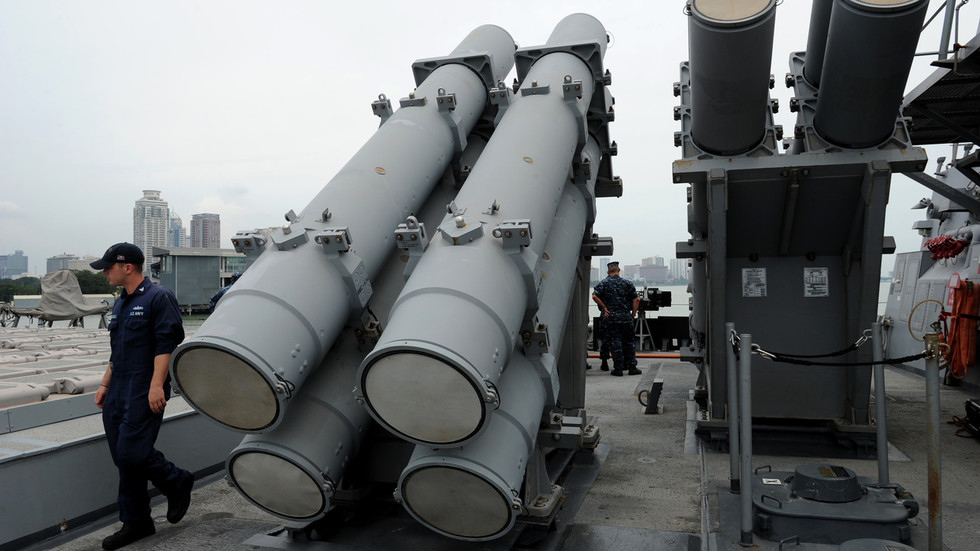 Washington approves sale of 400 ANTI-SHIP missiles worth $2.37bn to Taiwan after Beijing vows sanctions for US arms dealers
