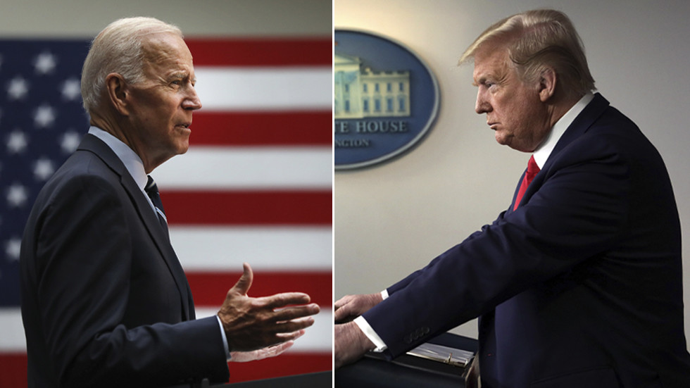 Slavoj Zizek: Biden's just Trump with a human face, and the two of them share the same enemy