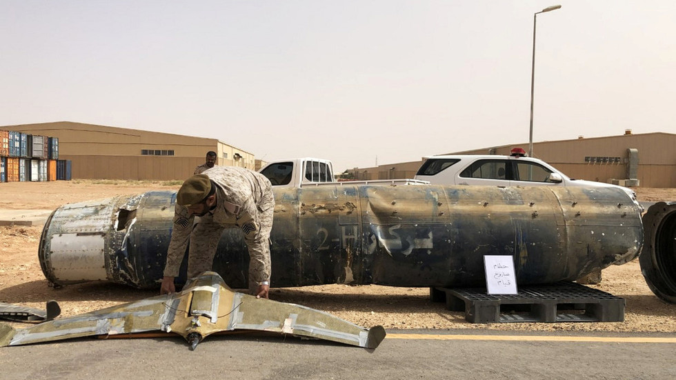 Saudi coalition 'destroys 6 Houthi drones' after US embassy warns Americans of potential attack on Riyadh