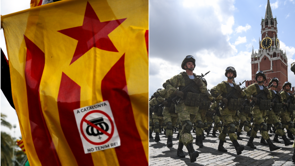 Add two zeroes, Russian embassy jokes, as Spanish media claims Moscow offered 10,000 troops to aid Catalan independence movement