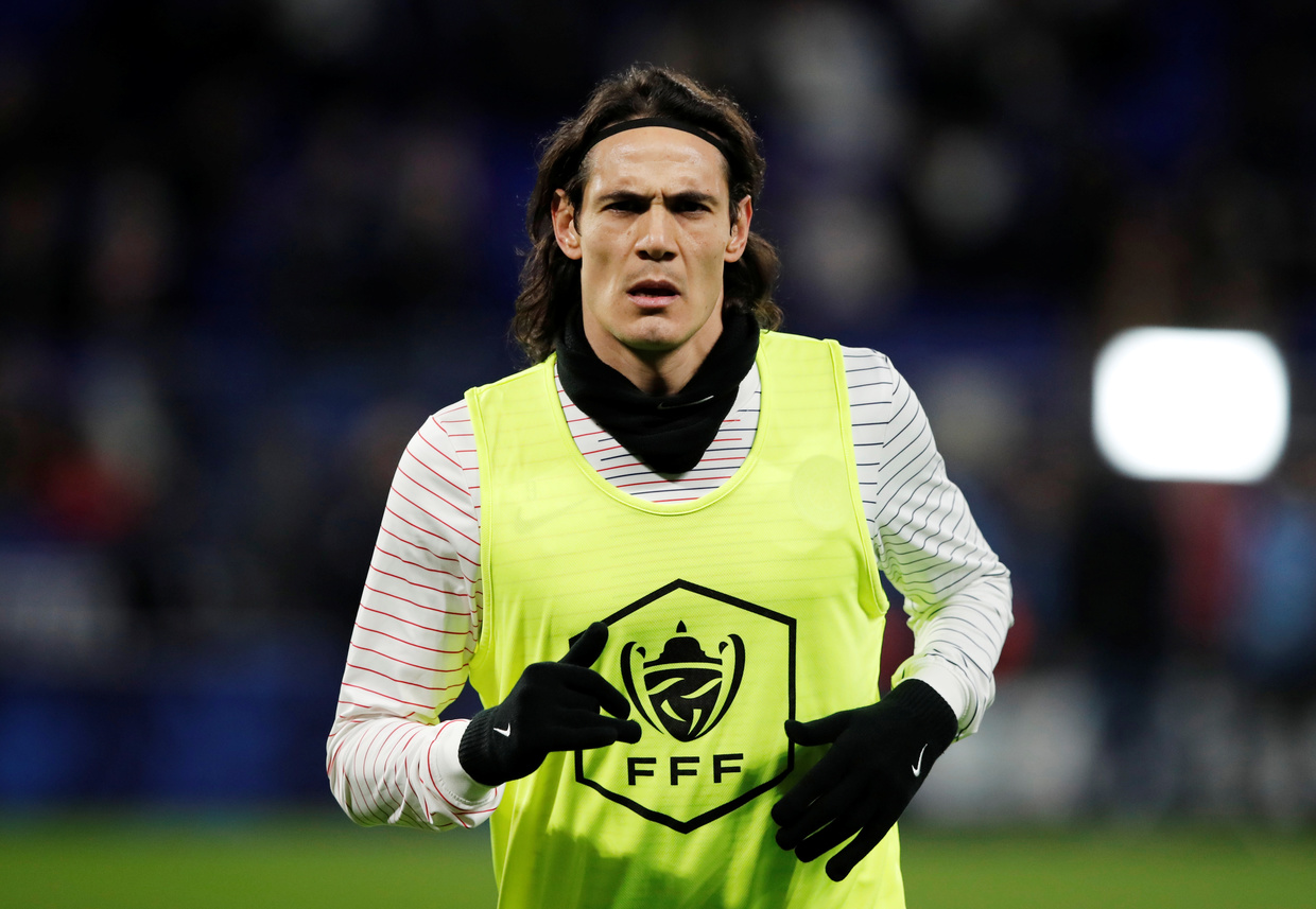 Manchester United Contact Government To Seek Clarification Over Edinson Cavani