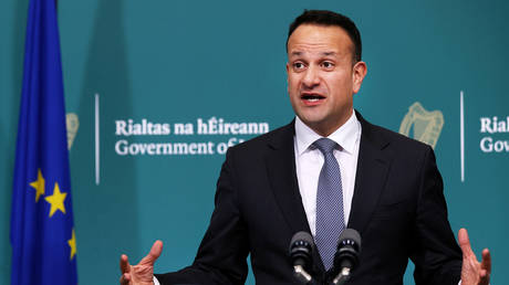 FILE PHOTO: Leo Varadkar, Dublin, Ireland. © Pool via REUTERS/Steve Humphreys