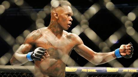Laughing off concerns: UFC middleweight champion Israel Adesanya