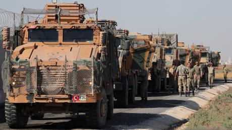 FILE PHOTO: Turkish military equipment.