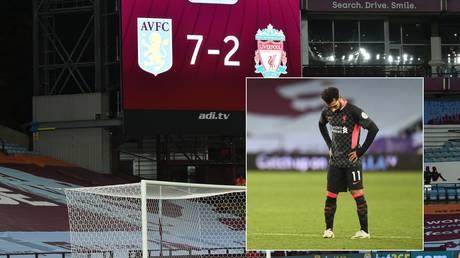 Aston Villa stunned champions Liverpool. © Reuters