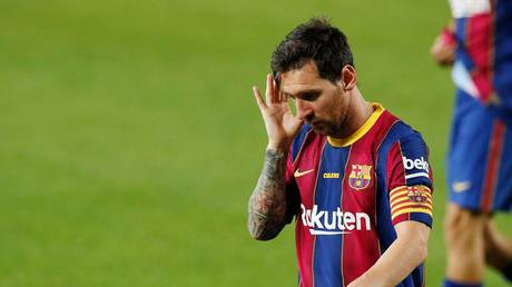 Barcelona have revealed some of the financial damage done by the coronavirus crisis. © Reuters