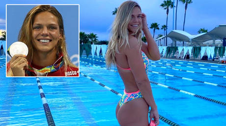 Russian world and Olympic swimming star Yulia Efimova has spoken about her training to fans © Instagram / pryanya93