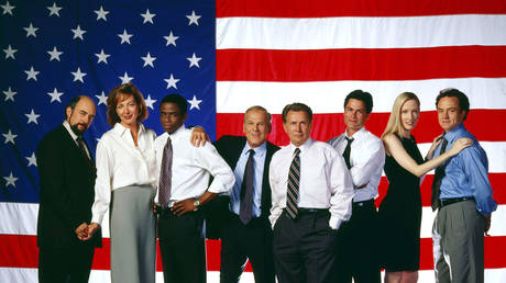 The NBC television series 'The West Wing'.
