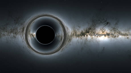 Simulation of a supermassive black hole. © NASA's Goddard Space Flight Center, ESA/Gaia/DPAC