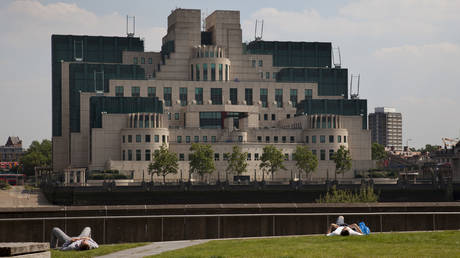 "The SIS Building, also commonly known as the MI6 Building, is the headquarters of the British Secret Intelligence Service (otherwise known as ""MI6"")"
