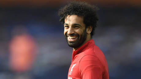 'Egyptian King' Mo Salah has been praised for his actions. © Reuters