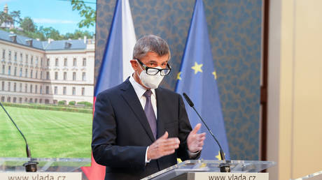 Czech Prime Minister Andrej Babis (FILE PHOTO) © Office of the Government of the Czech Republic/Handout via REUTERS