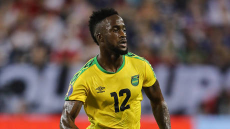 Jamaican footballer Junior Flemmings has been hit with a ban. © Getty Images
