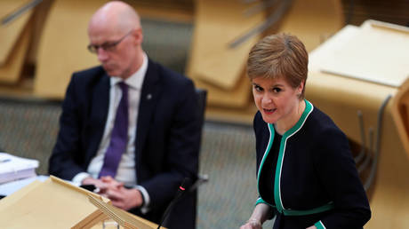 Scotland's First Minister Nicola Sturgeon, Edinburgh, Scotland, UK, (FILE PHOTO) © REUTERS/Russell Cheyne/Pool
