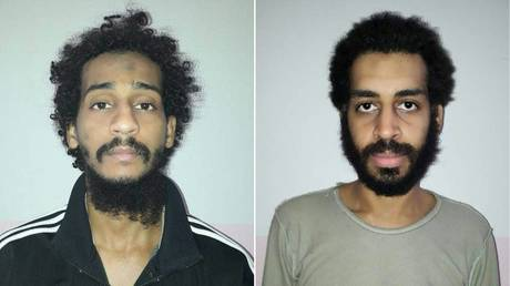 El Shafee (L) and Kotey (R) © AFP / Syrian Democratic Forces