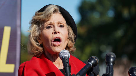 Jane Fonda sparks outcry after calling Covid-19 pandemic 'God's gift to the Left'