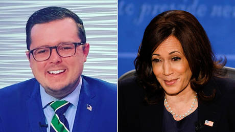 'Misogynistic loser': GOP consulstant eviscerated on Twitter for calling Kamala Harris an 'insufferable lying bi**h'