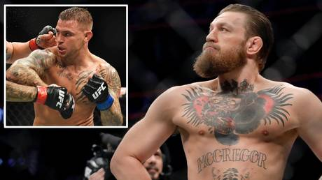 Match made? Conor McGregor says he has accepted a UFC bout with old rival Dustin Poirier