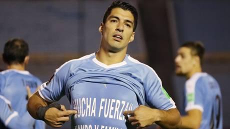 Upset: Former Barcelona hitman Luis Suarez