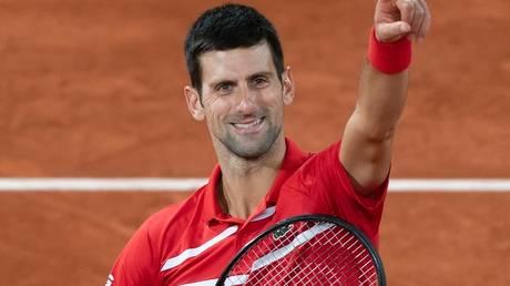 Confident: World No. 1 Novak Djokovic