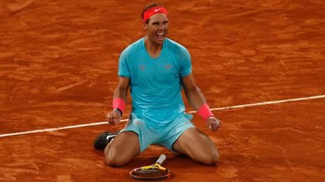 Record-equaling win: Rafael Nadal