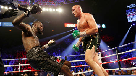 Tyson Fury has said he will not face Deontay Wilder in a trilogy fight. © Reuters