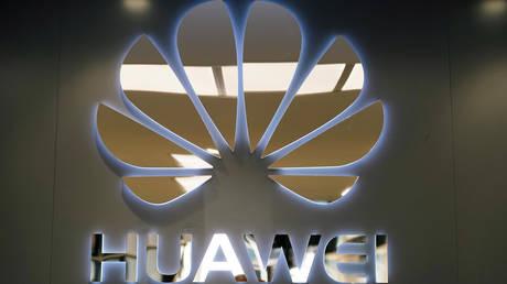 Huawei store in Madrid, Spain