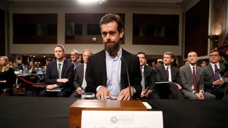Twitter CEO Jack Dorsey prepares to testify (in federal, not state, hearing) © Reuters / Joshua Roberts