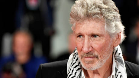 """FILE PHOTO: Roger Waters at the 76th Venice Film Festival - Screening of the documentary """"Roger Waters Us + Them"""" out of competition - Red Carpet Arrivals - Venice, Italy September 6, 2019"""