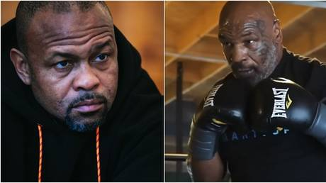 Comeback kings: Boxing icons Roy Jones Jr and Mike Tyson. © Instagram @royjonesjrofficial / @miketyson