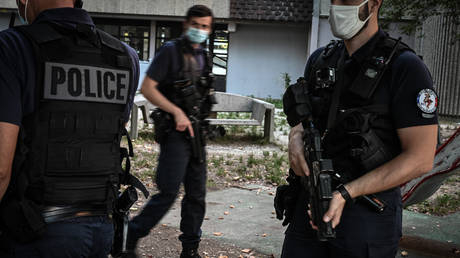FILE PHOTO French police carried out the raids on Thursday morning. © AFP /  JEAN-PHILIPPE KSIAZEK