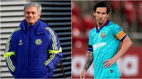 Jose Mourinho supposedly came close to tempting Messi to Chelsea. © Reuters / Getty Images