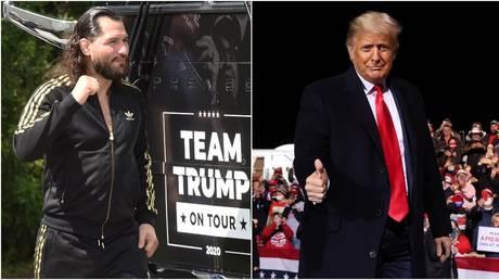 Donald Trump has praised UFC star Jorge Masvidal © SOPA Images / LightRocket via Getty Images   Reuters