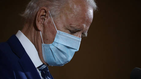 Democratic presidential candidate Joe Biden, October 13, 2020 file photo.