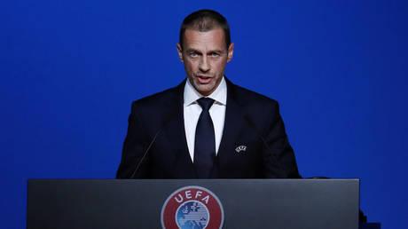 EFA President Aleksander Ceferin ©  REUTERS / Yves Herman