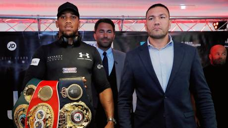 It's back on: Anthony Joshua will face Kubrat Pulev in London in December