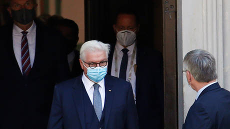German President Frank-Walter Steinmeier in quarantine after bodyguard is revealed to have Covid-19