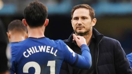 Aiming high: Chelsea boss Frank Lampard