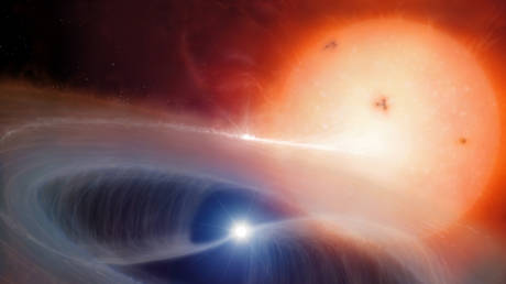 Closest to Earth 'black hole' turns out to be rare kind of star, after all