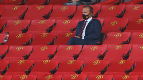 Manchester United executive vice chairman Ed Woodward. © Reuters