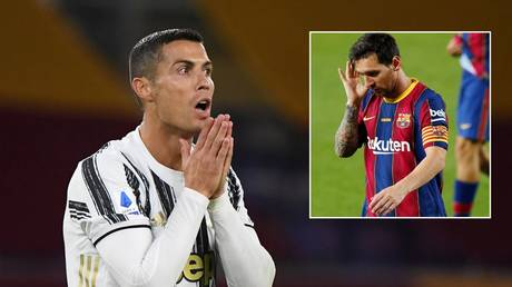 Ronaldo has reportedly tested positive for Covid-19 again and will miss the Champions League match with Barcelona. © Reuters