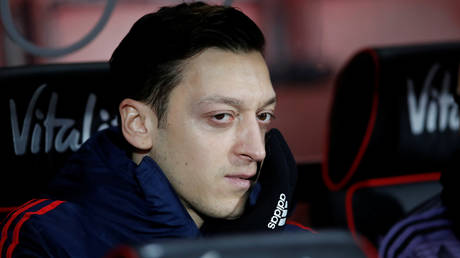 Mesut Ozil has been frozen out at Arsenal. © Reuters