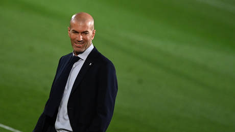 Zidane is facing mounting pressure at Real Madrid. © AFP